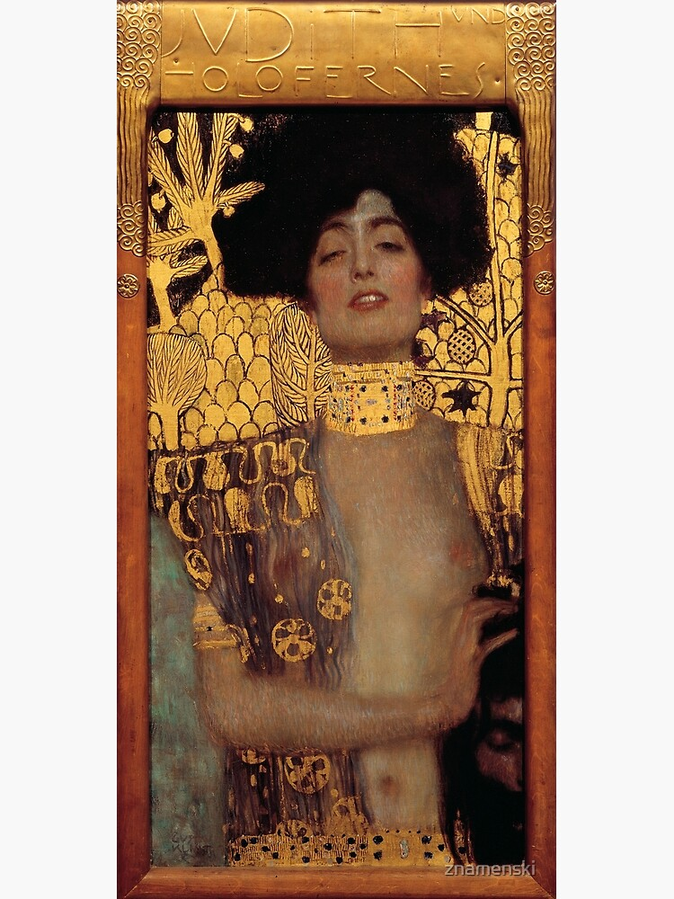 Judith and the Head of Holofernes (also known as Judith I) is an oil painting by Gustav Klimt created in 1901. It depicts the biblical character of Judith by znamenski