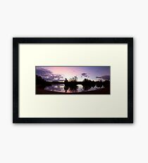 Crown Lakes Country Park  Framed Print