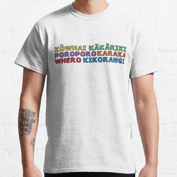 Te Reo Maori - Colours Classic T-Shirt