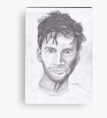 David Tennant 1 Canvas Print