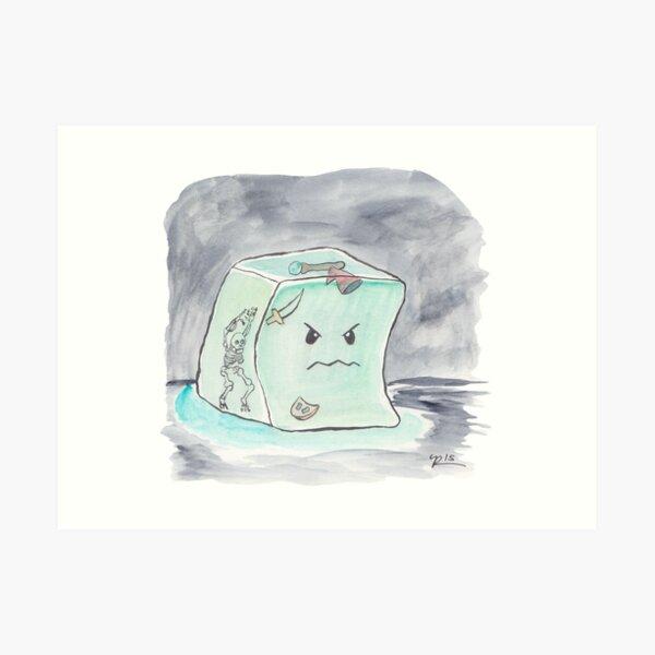 Beware The Angry Gelatinous Cube Art Print