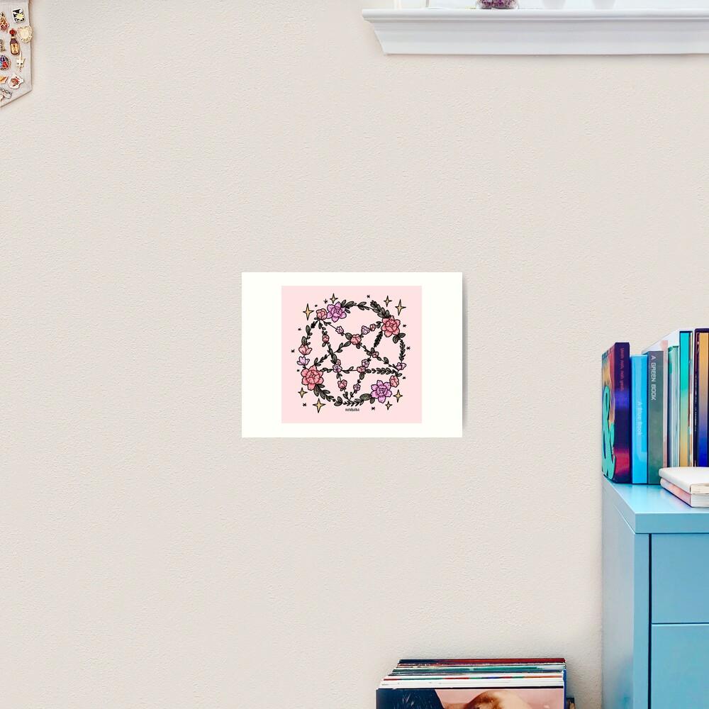 Floral Magic Art Print
