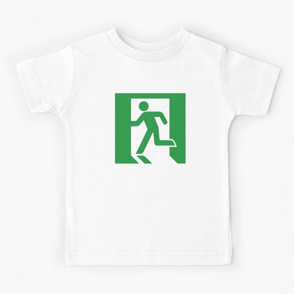 Fire exit Kids T-Shirt