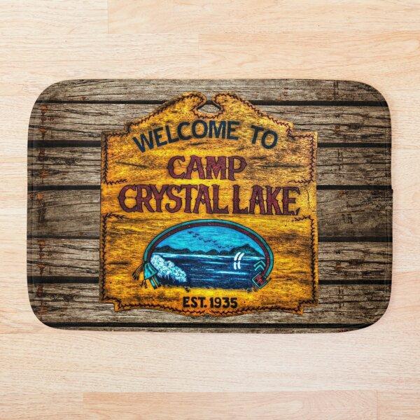 Camp Crystal Lake Bath Mat