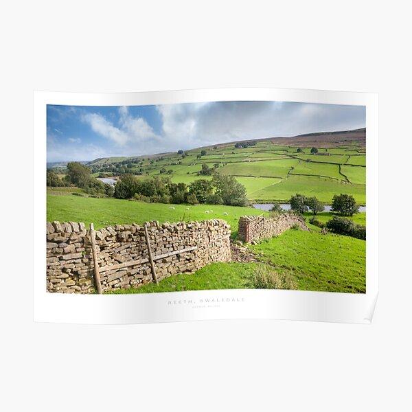 Reeth, Yorkshire Dales Poster