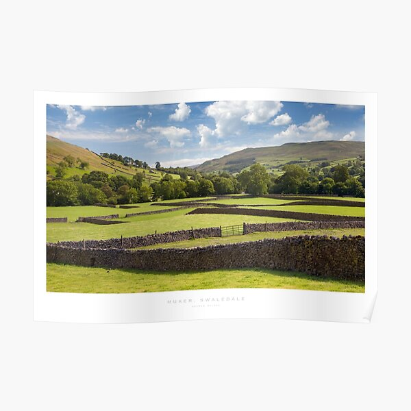 Muker, Yorkshire Dales Poster