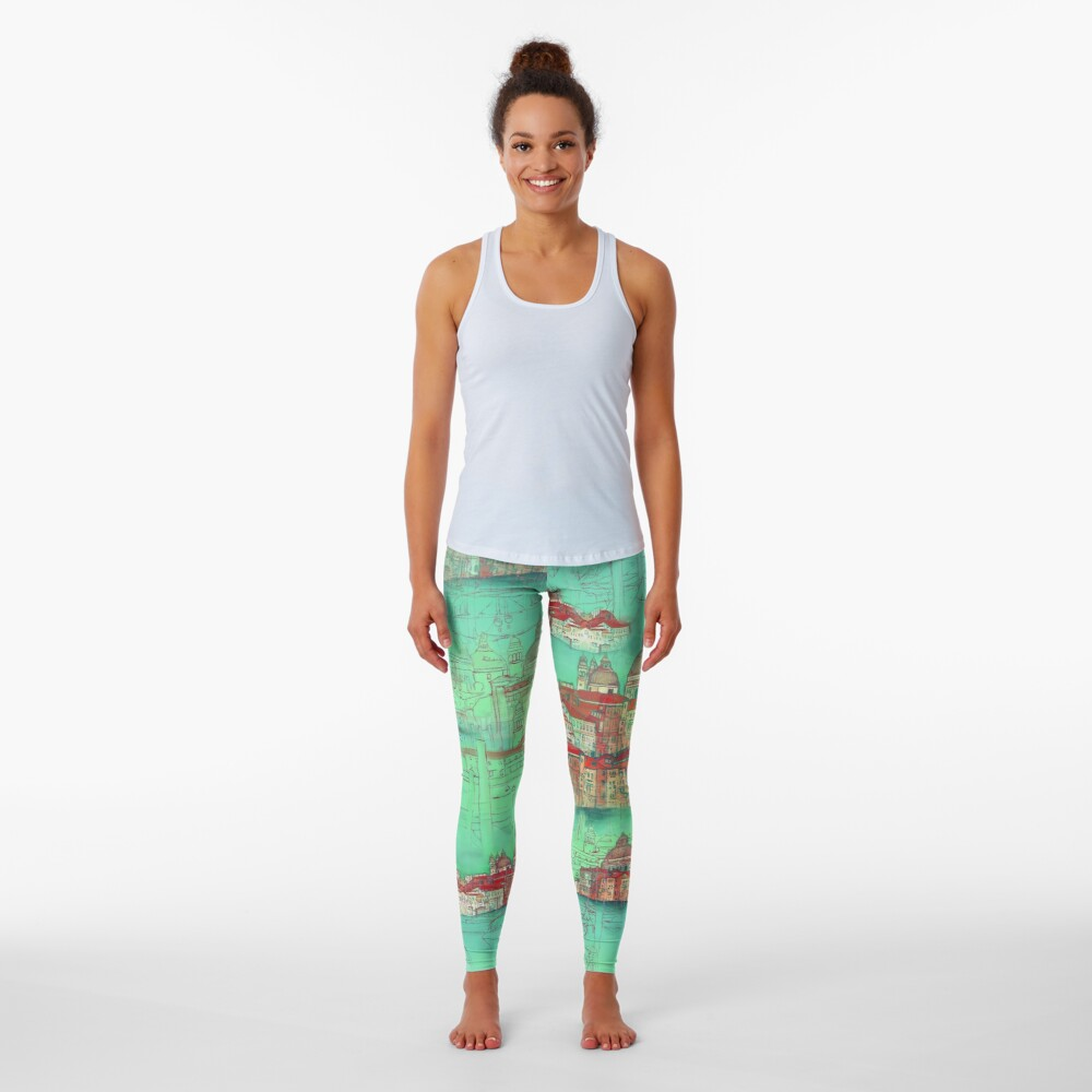 Venetian Green Leggings