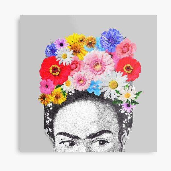 Frida Khalo Impression métallique