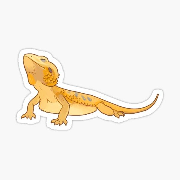Handsome dragon- Citrus Sticker