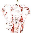 Der rote Elefant von Nadine Schnabel