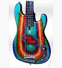 Kirk Powers - Custom Alleva Coppolo kbp5 Bass Poster