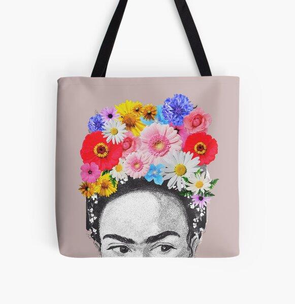 Frida khalo All Over Print Tote Bag