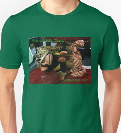 Musical Jolly Chimp Partied Too Hard T-Shirt