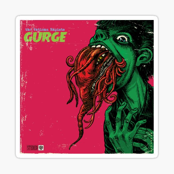 Gurge! Sticker