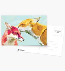 Fuchs-Kuss Postkarten