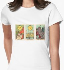 The Sun, The Moon, The Truth [Tarot] Women's Fitted T-Shirt