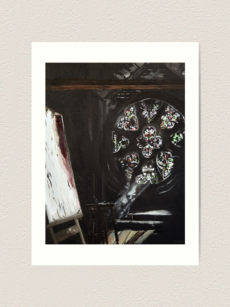 Alternate view of Ariandel Chapel Art Print