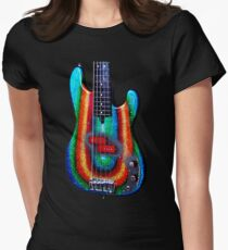 Kirk Powers - Custom Alleva Coppolo kbp5 Bass Women's Fitted T-Shirt