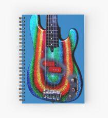 Kirk Powers - Custom Alleva Coppolo kbp5 Bass Spiral Notebook