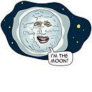 The Mighty Boosh - I'm the moon by bleedart
