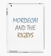 Mordecai And The Rigbys iPad Case/Skin