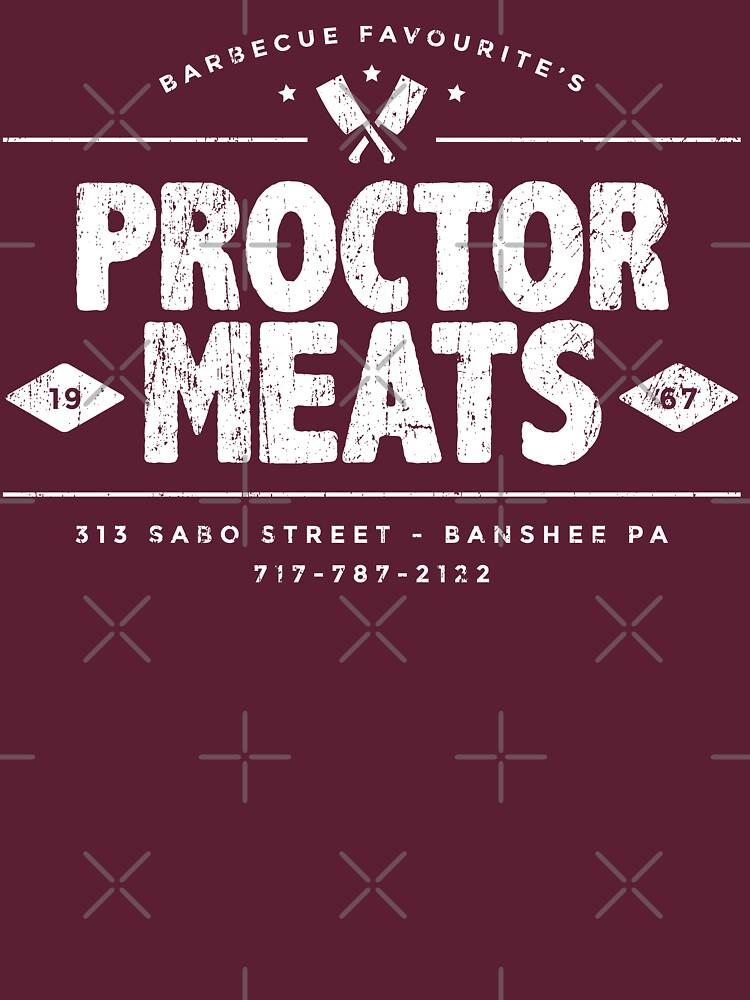 Proctor Meats (worn look) | Unisex T-Shirt