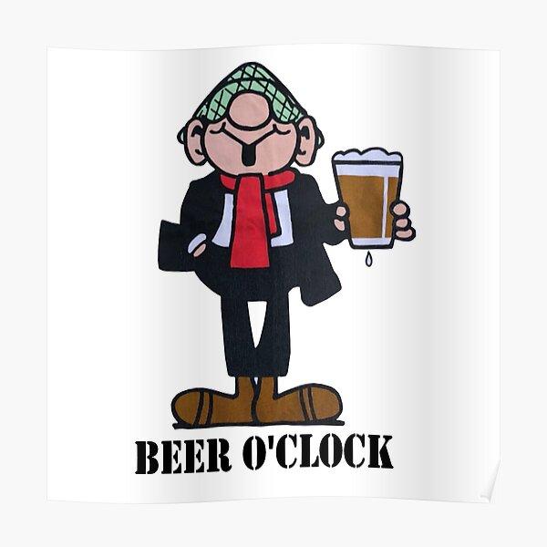 ANDY CAPP BEER O CLOCK Poster