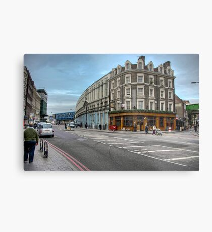 Southwark Tavern: Southwark Street, London. UK Metal Print