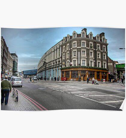 Southwark Tavern: Southwark Street, London. UK Poster