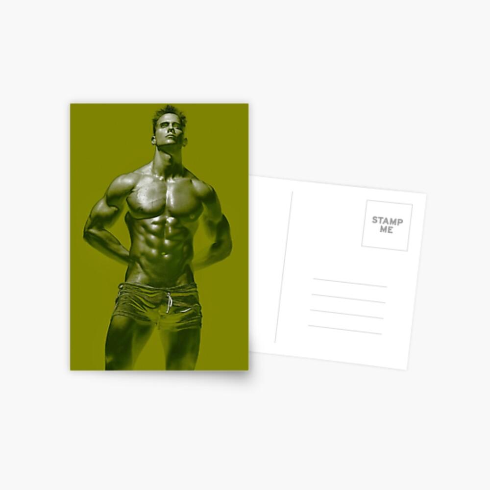 Tyler in Green Postcard