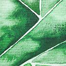 Green Triangle von Nadine Schnabel