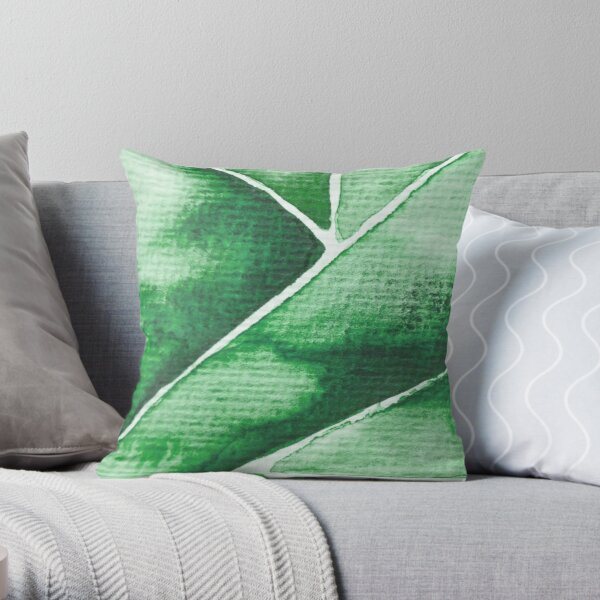 Green Triangle Dekokissen