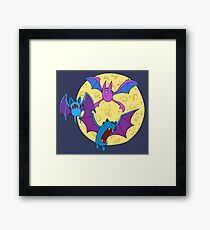 Zubat, Golbat, and Crobat Framed Print