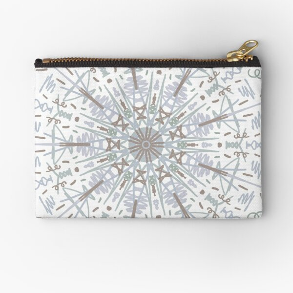 Trippy Zipper Pouch