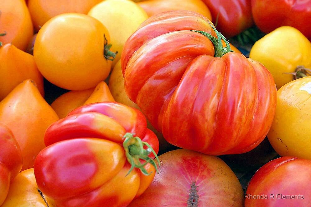 Tomatoes, Tomahtos! by Rhonda R Clements
