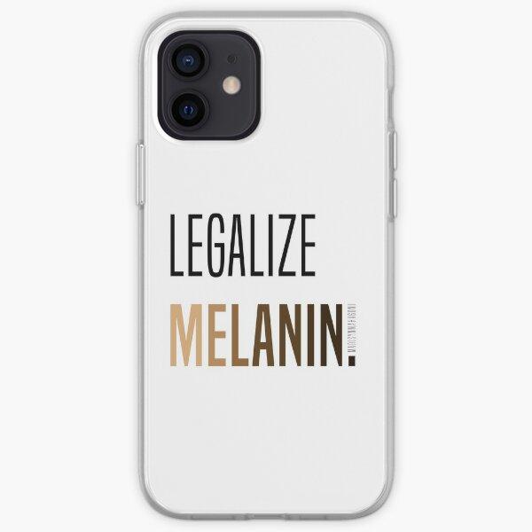 LEGALIZE MELANIN iPhone Soft Case