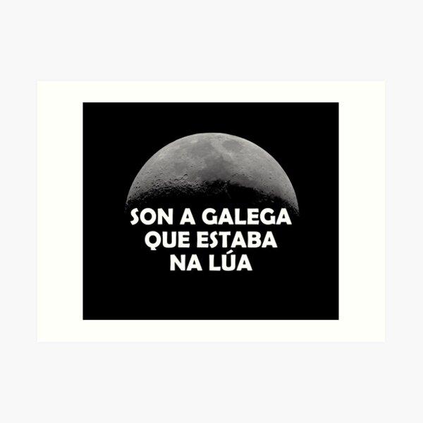 Son a galega que estaba na lúa - versión 2 Lámina artística