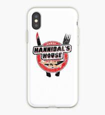 Hannibal's House (black) iPhone Case