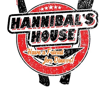 Hannibal's House (black) by heythisisbutt