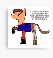 Nathan pony fillion Metal Print