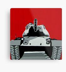 Tank U Very Much Metal Print