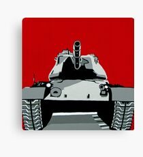 Tank U Very Much Canvas Print