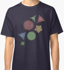 Diatom Marine Biology Art Classic T-Shirt