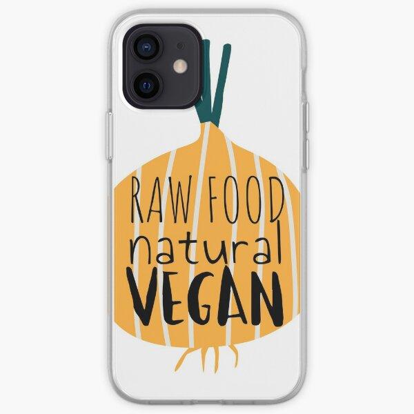 Raw food & Vegan iPhone Soft Case
