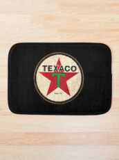 Texaco - Vintage Sign Bath Mat