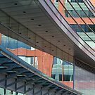 Brick, Steel and Glass by Lynn Wiles