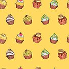 cupcakes_yellow by hahaha-creative