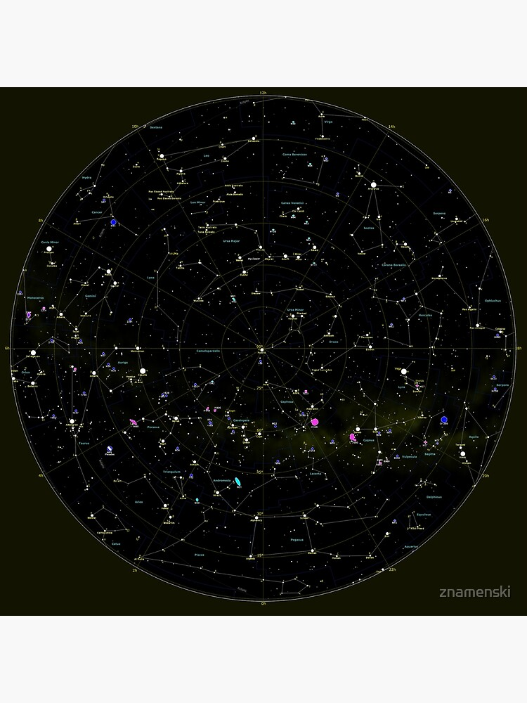 #Constellation #Map #ConstellationMap, #Astronomy, Cosmology, Universe, Science by znamenski