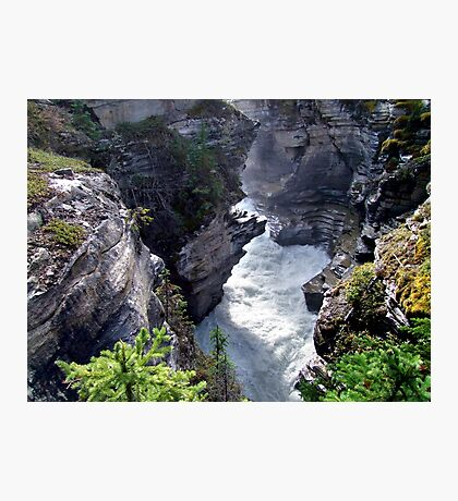 Athabasca River Gorge Photographic Print
