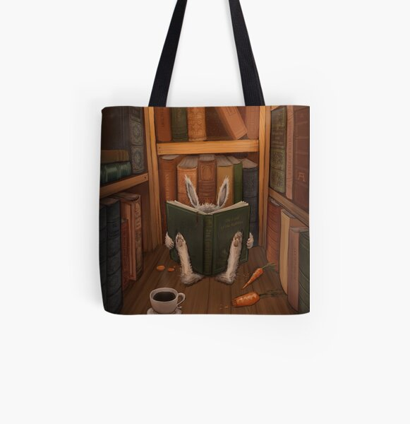 The Rabbit's Guide to the Galaxy All Over Print Tote Bag